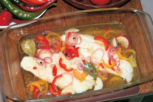 Escabeche (Eingelegter Fisch)